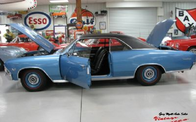 1966 Chevrolet Chevelle SS 2 DR. Convertible Marina Blue