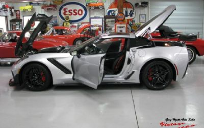 2019 Chevrolet Corvette ZR-1 Blade Silver Coupe