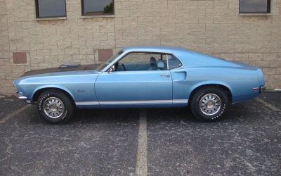 1969 Ford Mustang CJ GT / Winter Blue