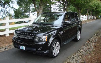 2012 Land Rover HSE Sport Luxury Edition