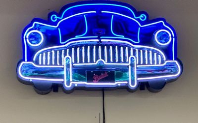 Buick Grill Neon Sign
