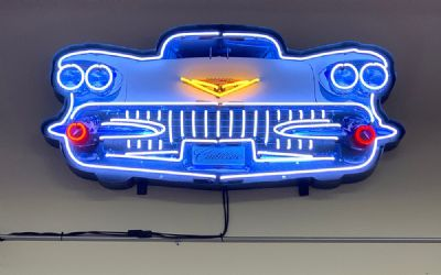 Cadillac Grill Neon Sign