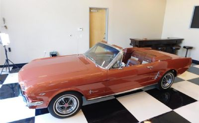 1966 Ford Mustang 2 DR. Convertible