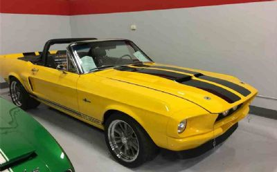 1968 Ford Mustang Shelby GT500 2 DR. Convertible