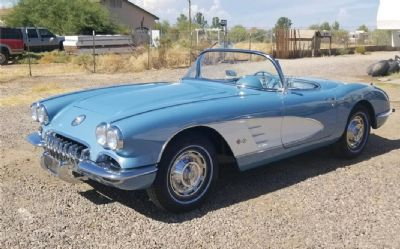 1960 Chevrolet Corvette 2 DR. Convertible