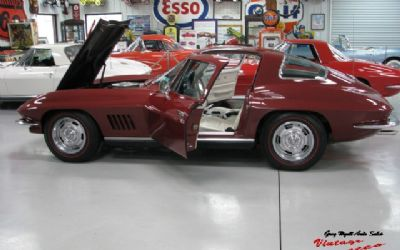 1967 Chevrolet Corvette Coupe Marlboro Maroon Factory Air 350HP