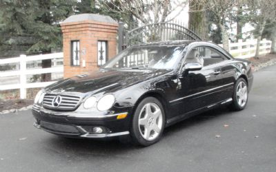 2004 Mercedes-Benz CL500 Coupe