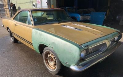1968 Plymouth Barracuda 2 DR.
