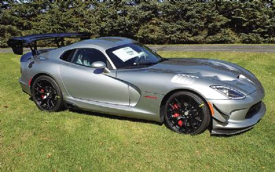 2016 Dodge Viper Acrx Coupe