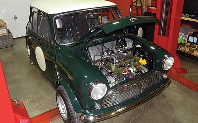 1961 Austin Mini Rally Car LHD