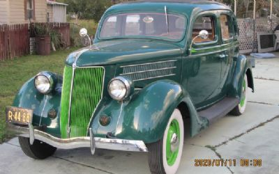 1936 Ford Sedan Number's Matching
