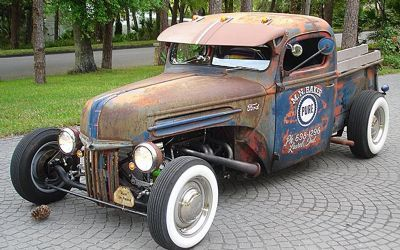 1947 Ford 'patina' F1 Pickup Pro Built RAT Rod