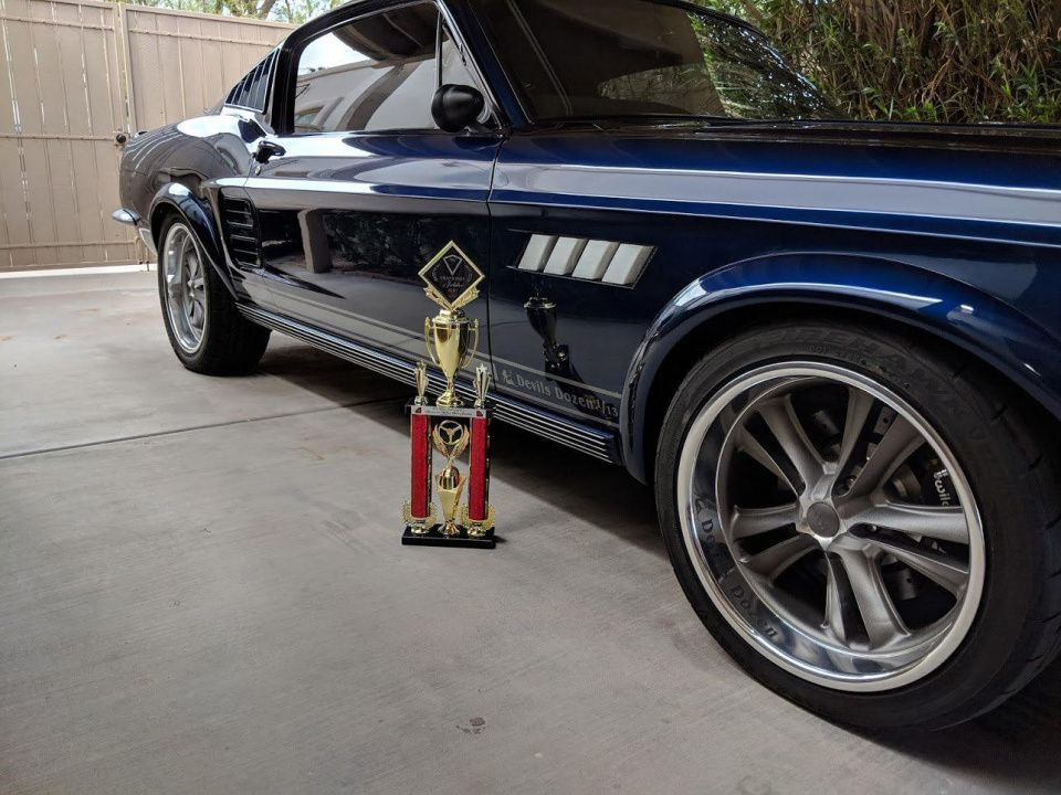 1967 FORD MUSTANG 7