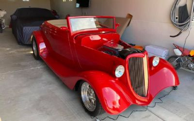 1934 Ford Custom Convertible