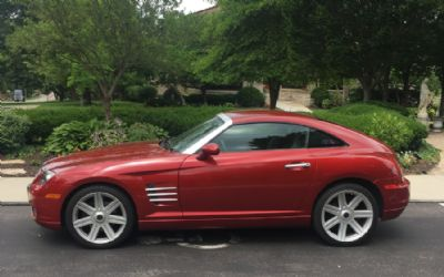 2004 Chrysler Crossfire 2 Door Sports Car