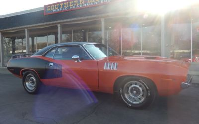 1971 Plymouth Barracuda 2 DR. Coupe