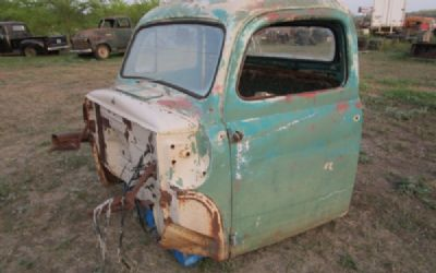 1952 Ford Cab With Doors
