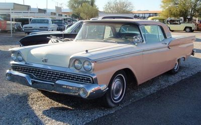 1959 Ford Galaxie Fairlane Skyliner Retractable Convertible