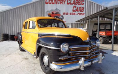 1946 Plymouth 4DR