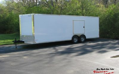 2018 Cynergy Enclosed Trailer 24 Foot