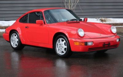 1989 Porsche 911 Carrera 4 2 DR. Coupe