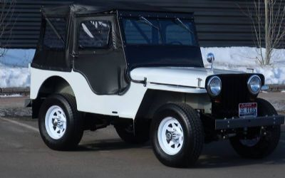 1946 Willys CJ 2A 2 DR.