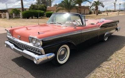1959 Ford Fairlane Galaxie 500 Skyliner Retractable Hardtop Convertible