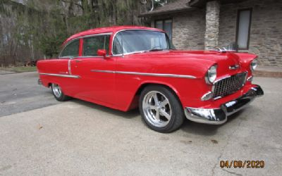 1955 Chevrolet Bel Air 2 DR. Post