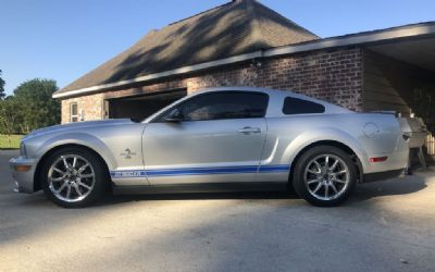 2009 Mustang Shelby GT 500 KR 2 Door Coupe