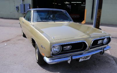 1969 Plymouth Barracuda 340 Formula S Coupe