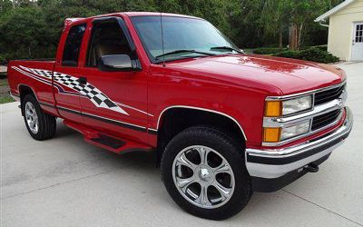 1997 Chevrolet Silverado Extended Cab 4X4 Pickup With
