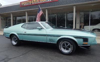 1972 Ford Mustang Mach 1 2 DR. Coupe