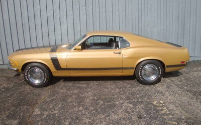 1970 Ford Mustang Boss 302 / Bright Gold Metallic Survivor