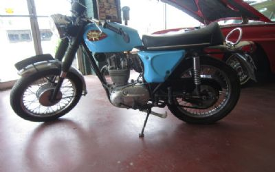 1968 BSA B25 Starfire Motorcycle Original