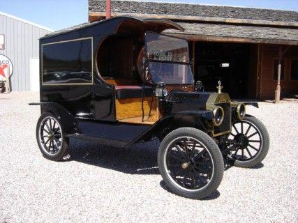 1914 MODEL T BRASS C-CAB TRUCK