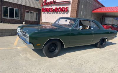 1969 Dodge Dart Numbers Matching Build Sheet