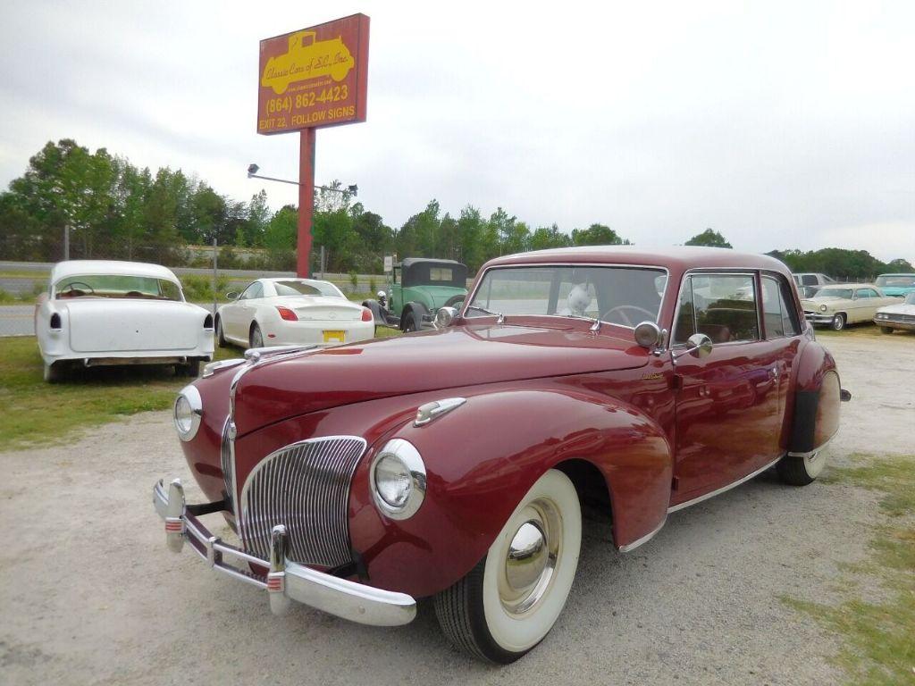 1941 Lincoln Continental 1