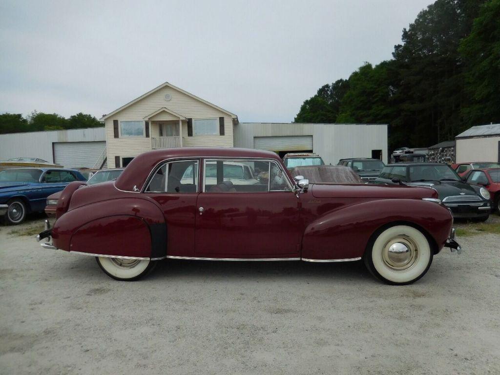 1941 Lincoln Continental 4