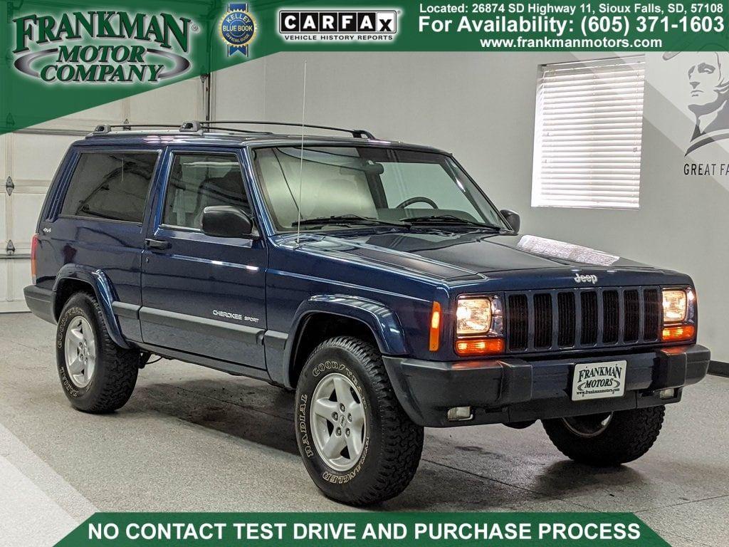 2001 Jeep Cherokee Sport For Sale Autabuy Com