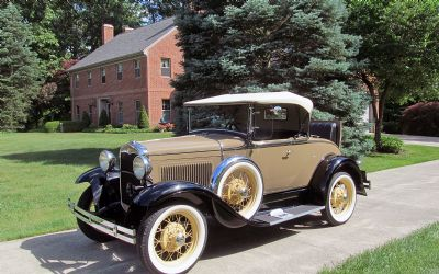 1931 Ford Model A Roadster Convertible With Rumble Seat