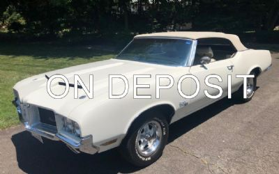 1971 Oldsmobile Cutlass Supreme SX 2 DR. Convertible