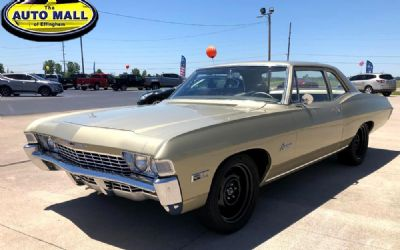 1968 Chevrolet Biscayne 2 DR. Post