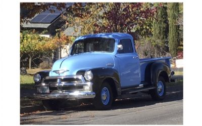 1954 Chevrolet 3100 1/2 Ton 5-Window Pickup