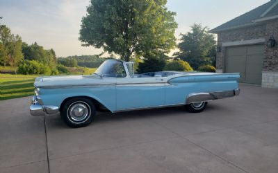 1959 Ford Skyliner Galaxie 500 Hardtop Retractable