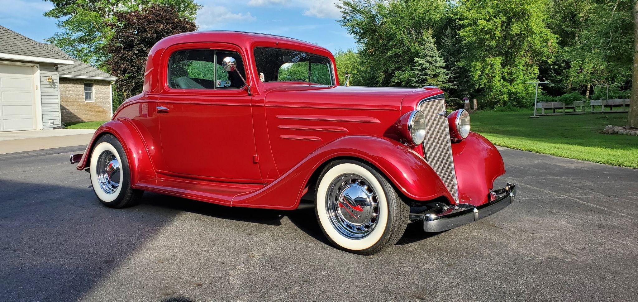 1935 CHEVROLET 3 WINDOW