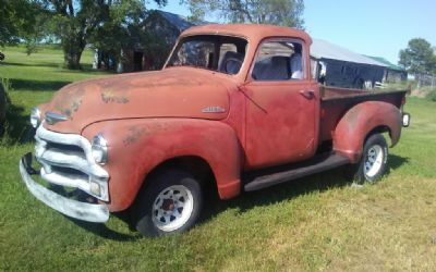 1954 Chevrolet 5 Window 3100