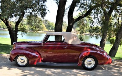 1939 Ford Deluxe Conv CPE Rumble Seat