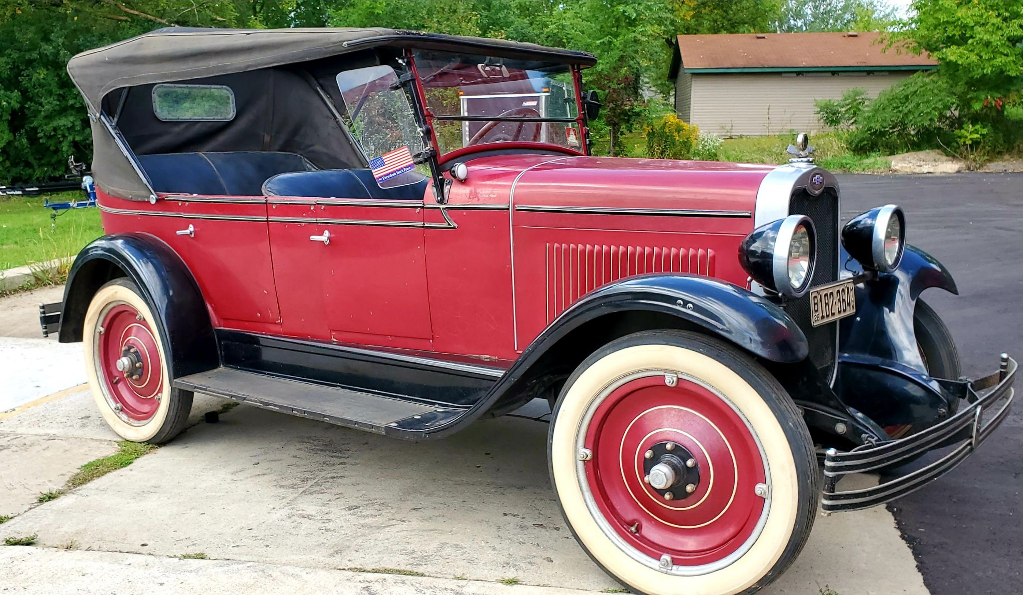 1928 CHEVROLET NATIONAL TOURING AB