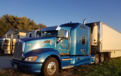 2012 Kenworth T660 Semi Tractor With Great Dane Reefer Trailer