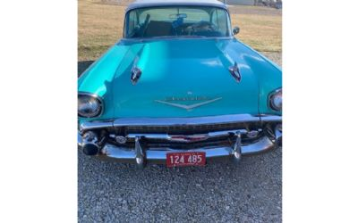 1957 Chevrolet Bel Air 2 DR. Hardtop - Sold!